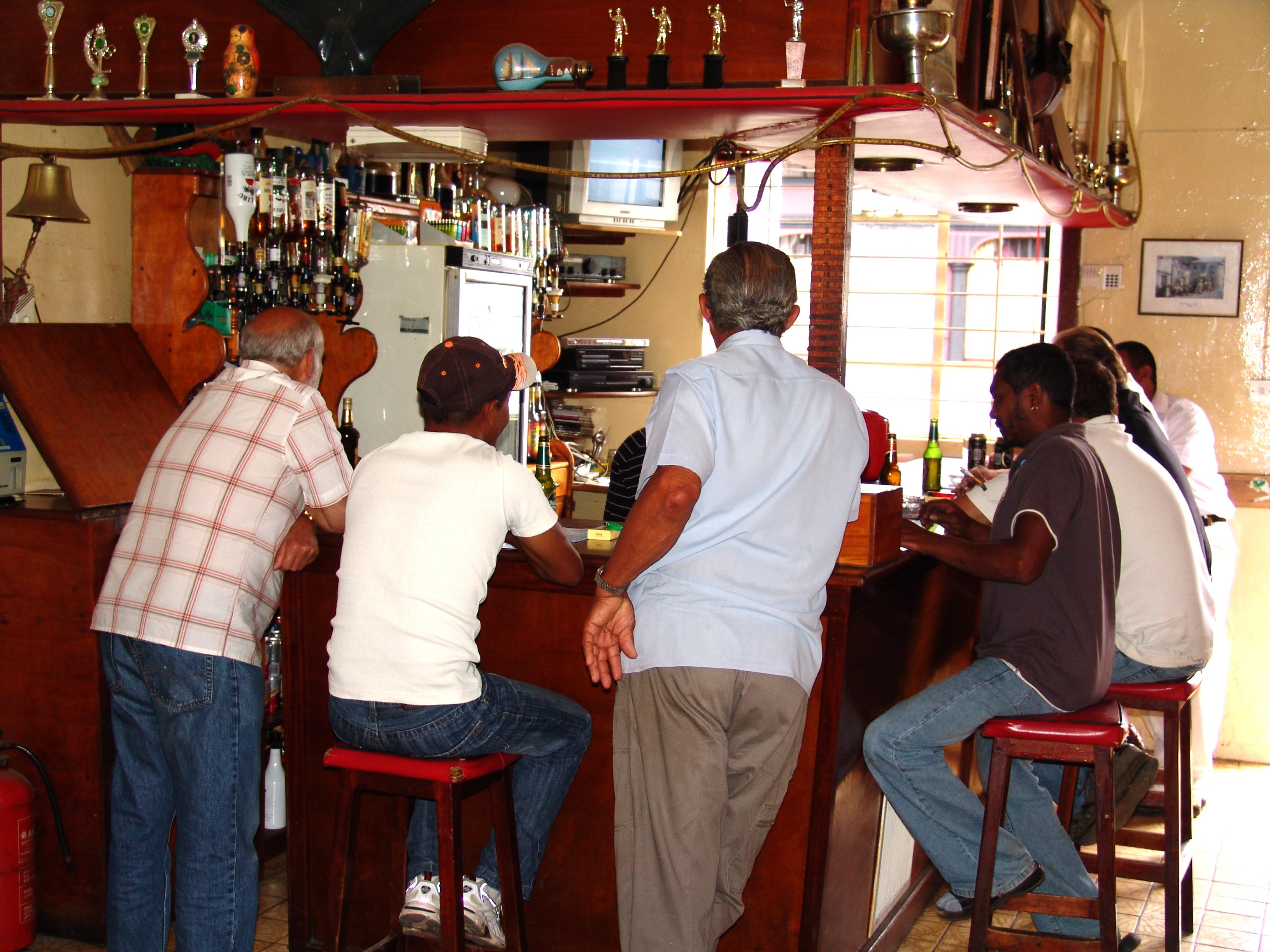 The People St Helena Island